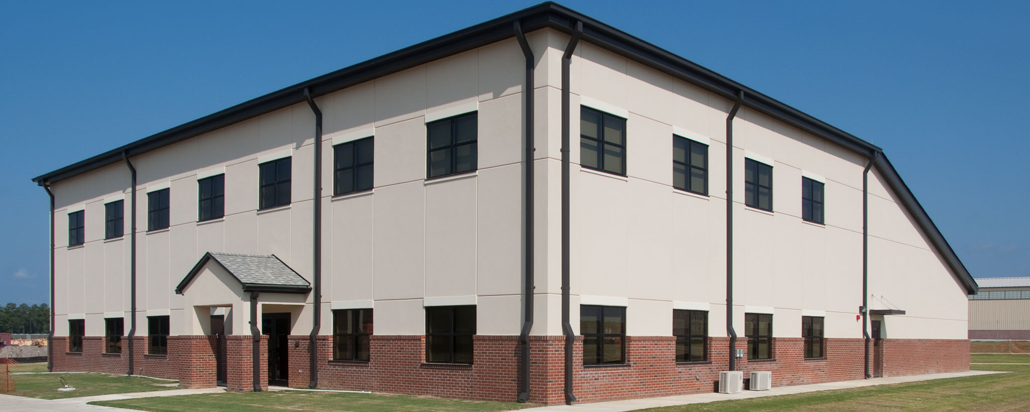 Caddell builds 108th ADA Barracks in Ft. Bragg, NC