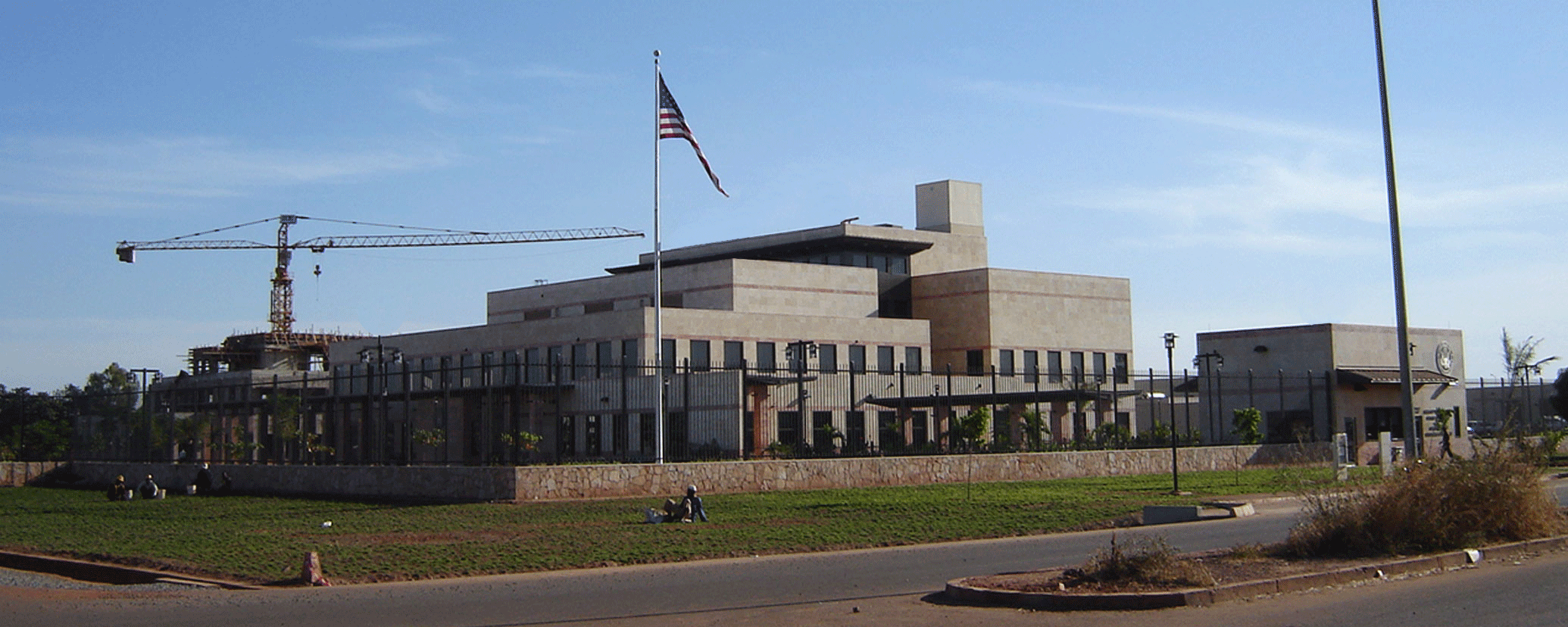 Caddell Construction Project - U.S. Embassy in Bamako, Mali