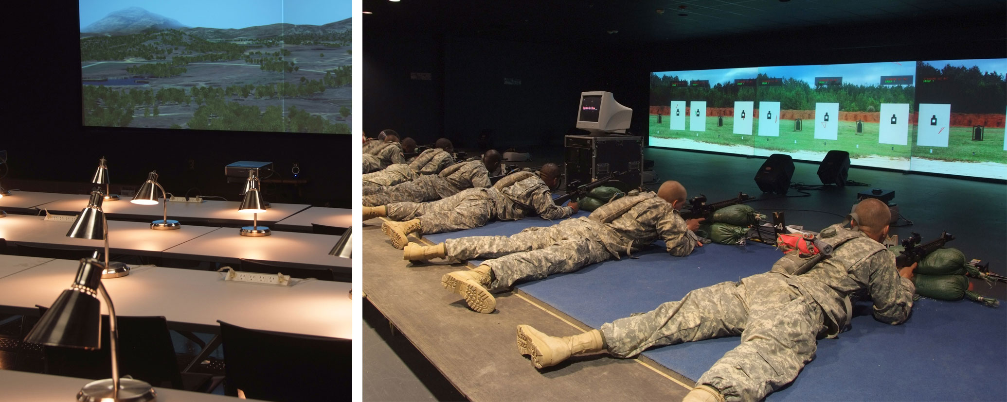 Combat Simulations Training Facility