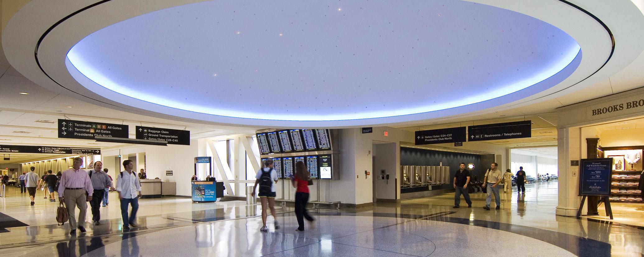 Caddell Construction - Houston Airport Terminal C Renovation