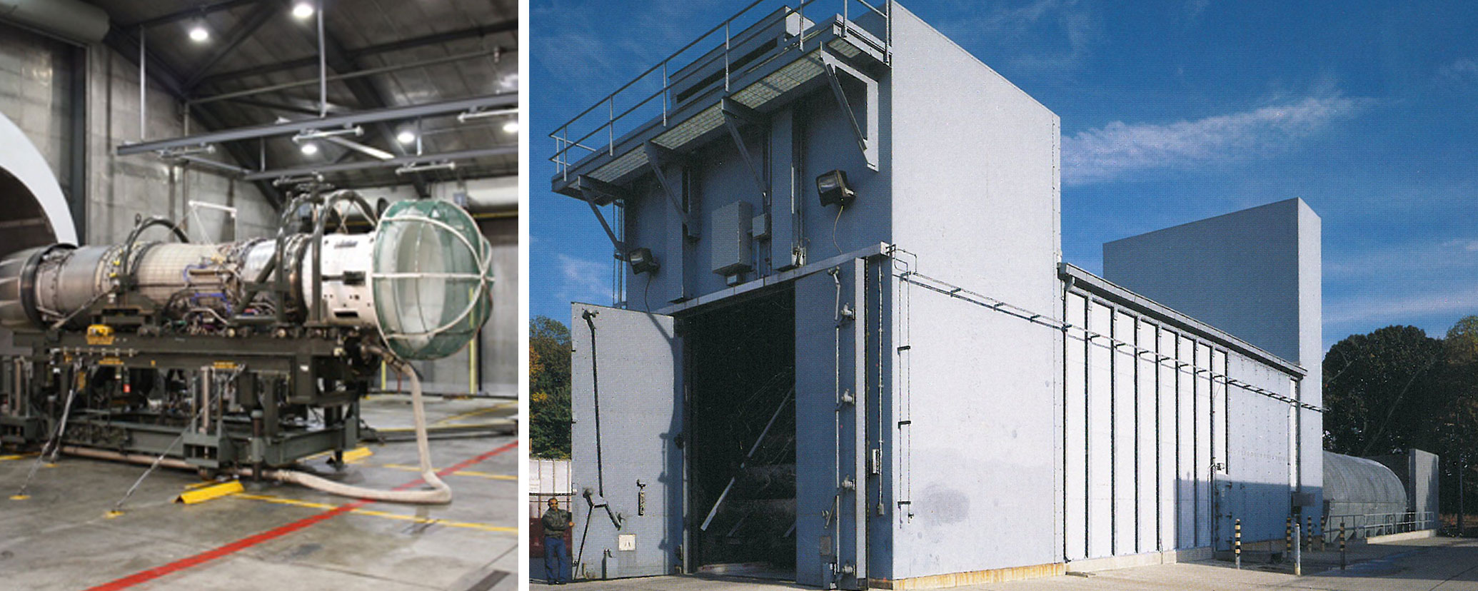 Jet Engine Test Hanger - Caddell Construction