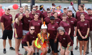 Caddell Construction at 2017 Dragon Boat