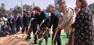 Caddell Construction breaks ground for the new U.S. Embassy in Mexico City