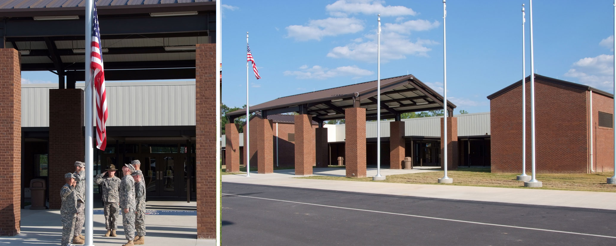 Caddell Construction Project - Soldier Reception & Processing Center, Fort Benning, GA