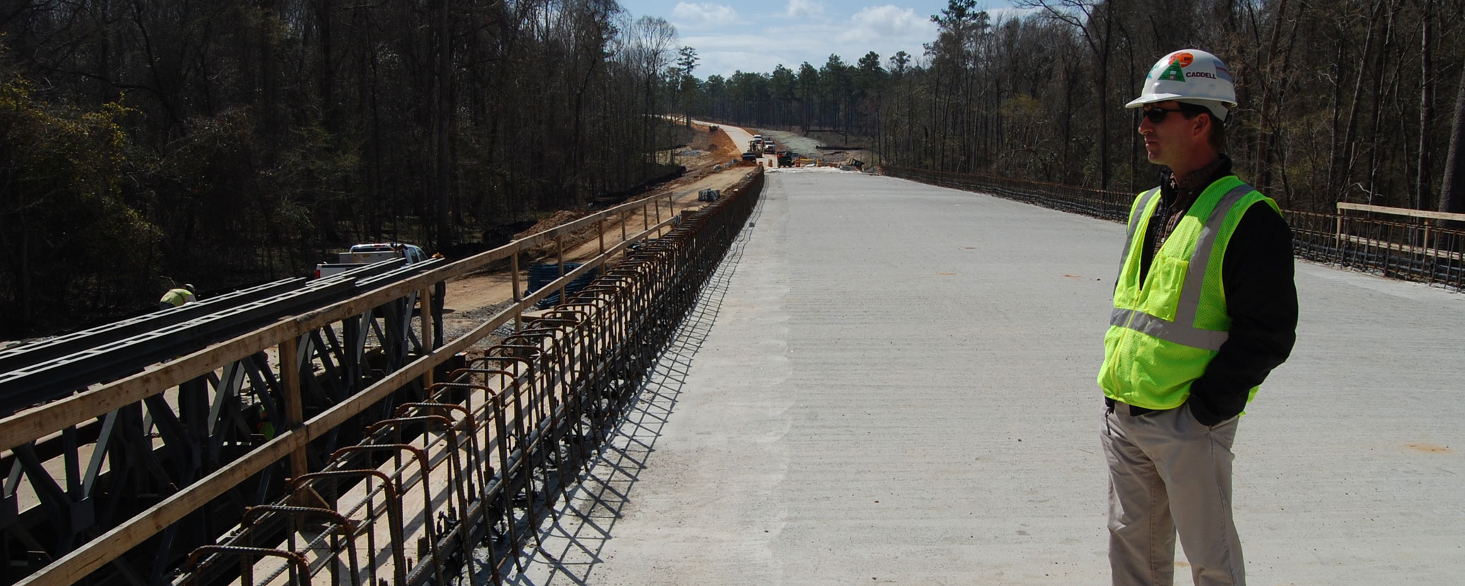 Caddell Construction Project - Training Roads & Bridges Phase C Fort Benning, GA