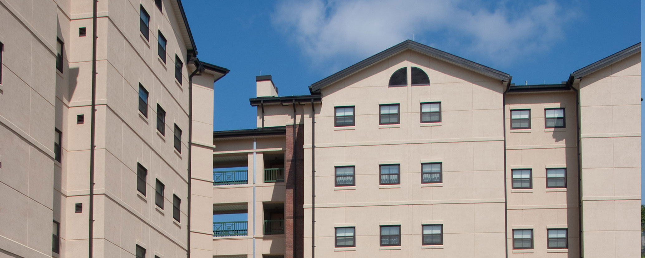 Caddell Construction project - 2nd Brigade Barracks Complex, Fort Bragg, NC
