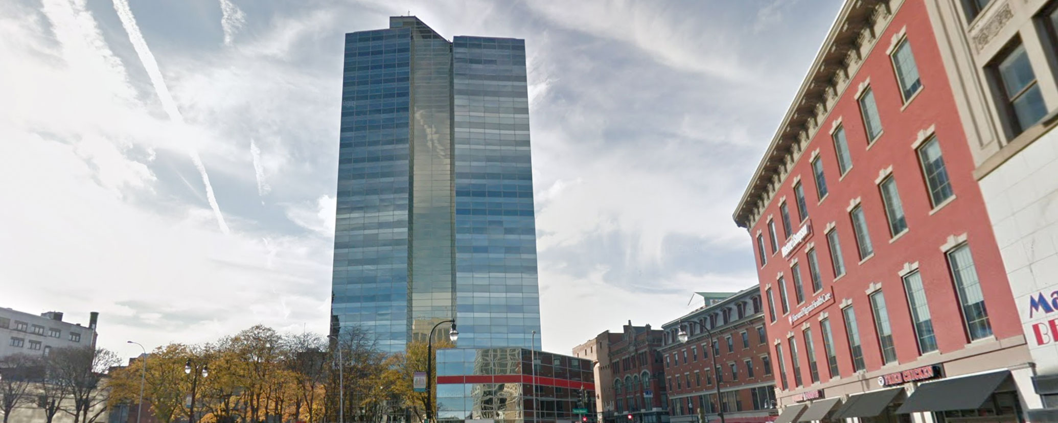 Caddell Construction Project - Bank & Office Building Worcester, MA