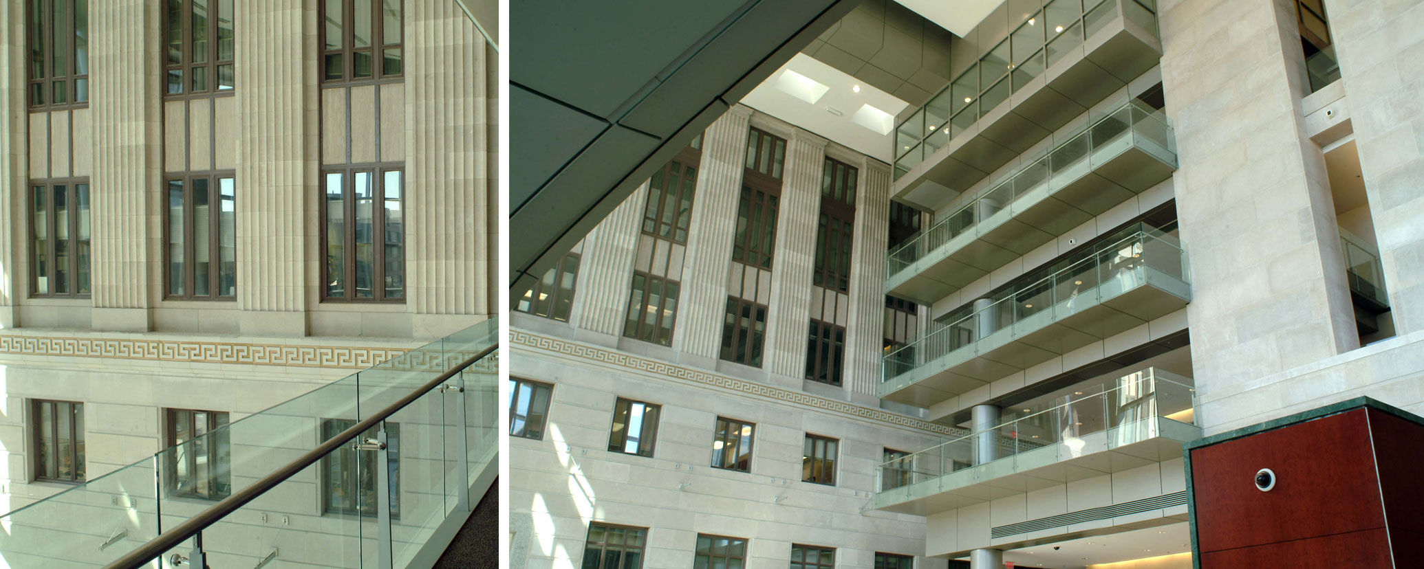 Caddell Construction - Interior of U.S. Courthouse, Little Rock, AR