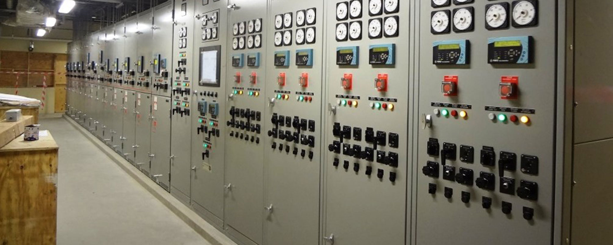 Caddell Construction power systems