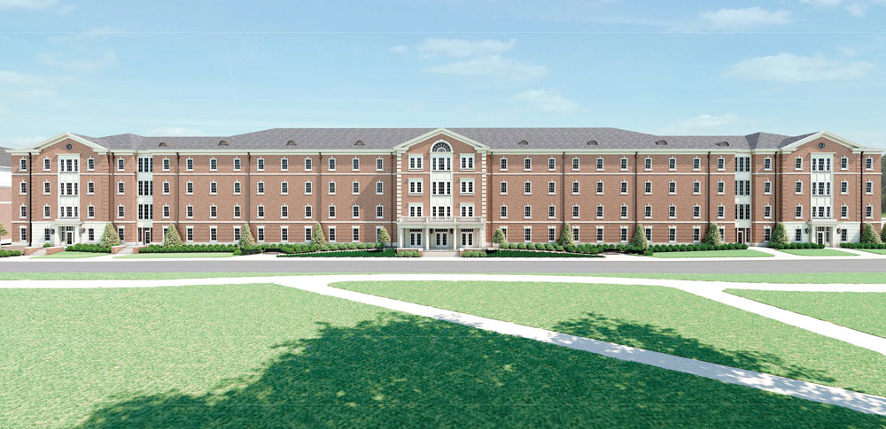 Caddell Construction awarded the New Freshman Residence Hall at the University of Alabama