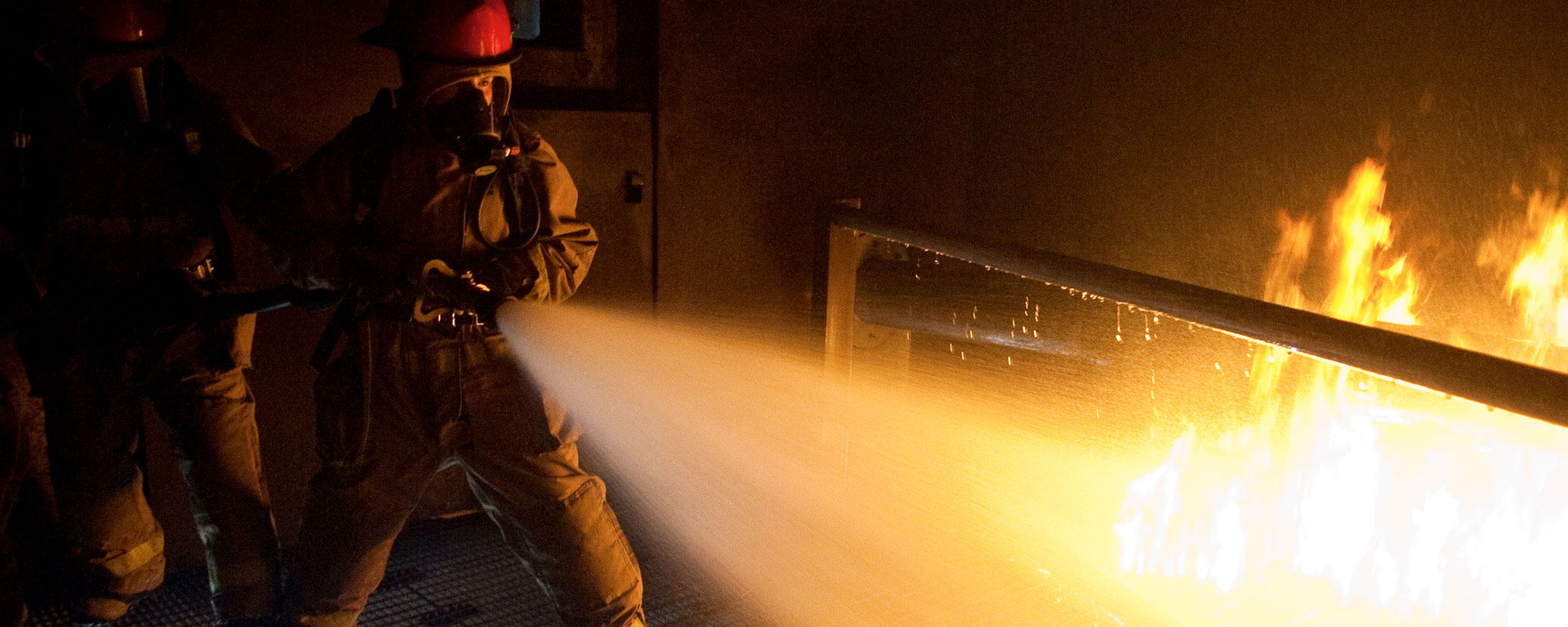 Caddell Construction project - Naval Aviation Fire Training Complex, Pensacola, FL