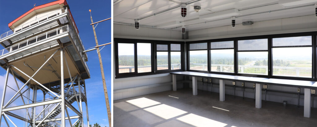 Aerial Gunnery Range Fort Bragg Nc Caddell Construction