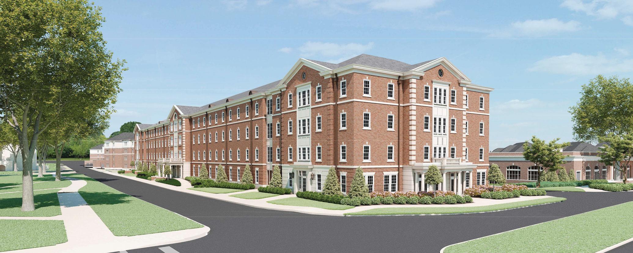 Freshman Residence Hall University Alabama Tuscaloosa  Al