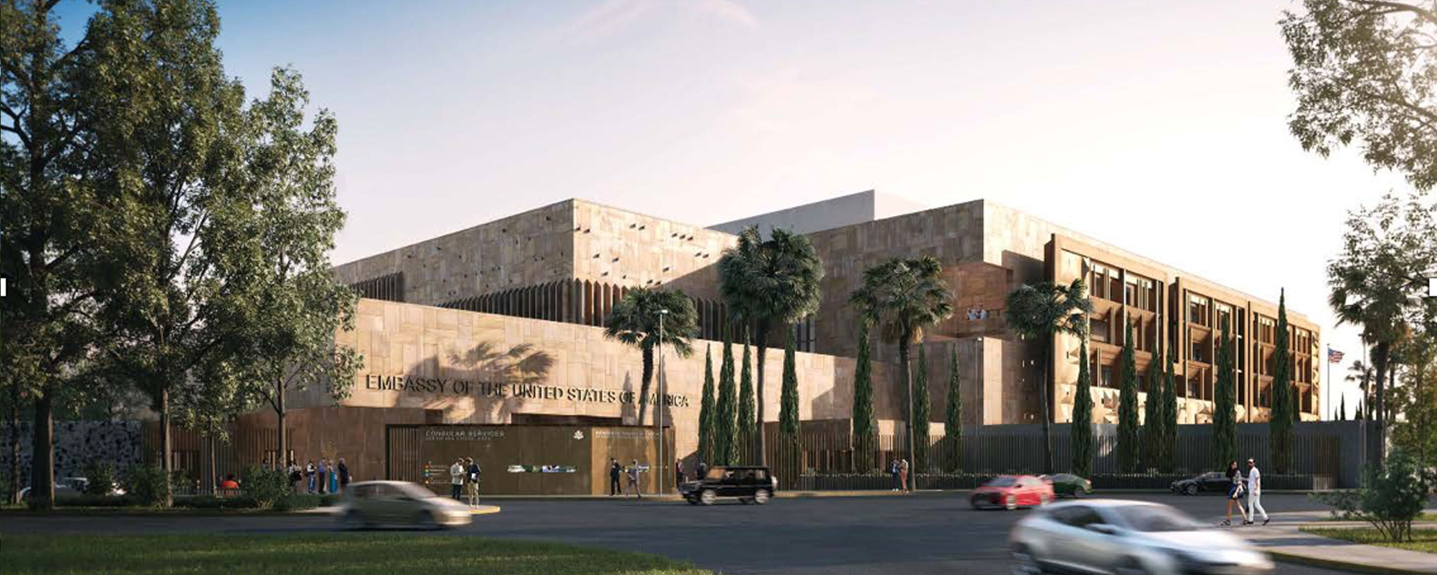 U S Embassy Mexico City Mexico Caddell Construction Co
